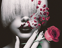Ladies & Cigaretes collage serie.
