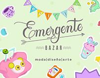 Emergente Bazar 2ª edición | Cartel
