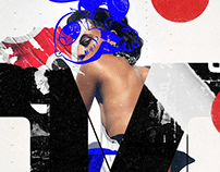 Collage Artwork 217-219