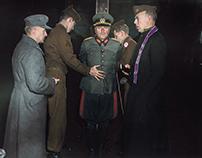 Execution of Nazi General Anton Dostler, 1945