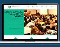 Sustenta Soluções em Eventos - site onepage