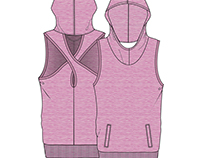WOMEN'S PERFORMANCE WEAR,CAD DESIGN