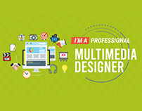 Professional Video Resume / Video CV Multimedia Designe