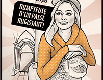Illustrations brochure Office de Tourisme de Guillestre