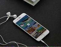 tourism App + UI/UX Design + Concept