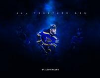St. Louis Blues Playoff Campaign Concept