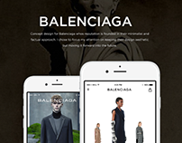Balenciaga Shopping App