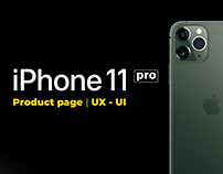 iPhone 11 pro | product page