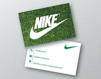 Nike Business Card