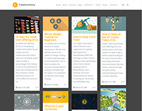 Blog Wide Page - Cryptocurrency WordPress Theme