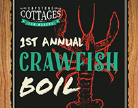 Crawfish Boil Party Flyer