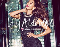 Graphic Campaign @nelly.com Lily Aldridge for Nelly