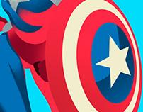 CAROL DANVERS Captain America