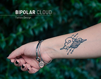 """Bipolar Cloud"" - Original Tattoo Design"