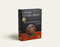 Corona material library for C4D Architecture Edition