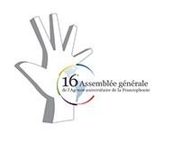 Création identité pour l'assemblée Générale de l'AUF