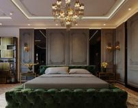 neo classic bedroom