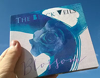 Blossom - The Black Veils - Digipack Cover Art