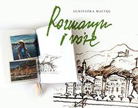 ROZMARYN I RÓŻE- book design