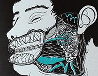 Bouche à oreille - Graphzine // 2012