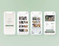 NomNow App Design
