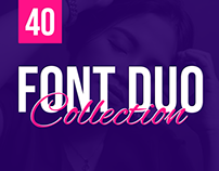 40+ Dynamic Font Duos / Pairing Different Fonts Togethe