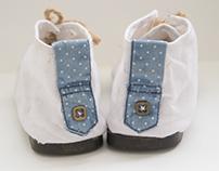 One Foot Kapda : Upcycled Footwear