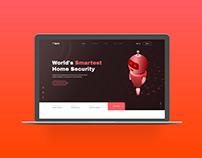 Olarm Website Re-Design Unofficial Free Download