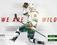"Minnesota Wild ""See You April 15"" Social Media Graphic"