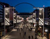 Olympic Way + Bobby Moore Bridge