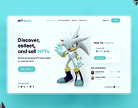 NFT Bazar UI design
