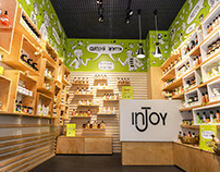 Shop design for inJoy Cosmetics