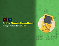 Brick Game Handheld