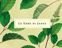 Le Erbe di Janas 2. // Illustrations