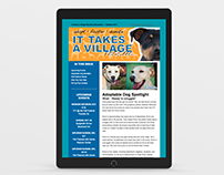 It Takes a Village Canine Rescue E-Newsletters