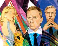007 Spectre for GQ Japan
