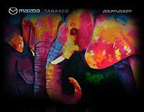 Mazda Tabasco: Banners 2017
