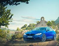 Matte Painting BMW M4