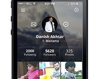 Danix App - Profile