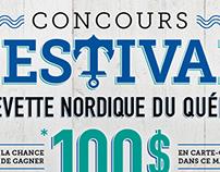 Concours Festival crevette nordique du Québec
