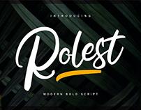 Rolest Script Font