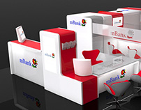 mBank booth design