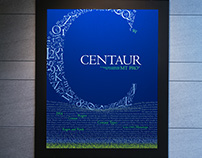 Type Font Poster