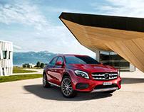 Mercedes GLE - Campaign Visuals - CGI