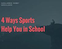 4 Ways Sports Help You in School