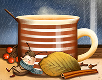 Autumn and tea