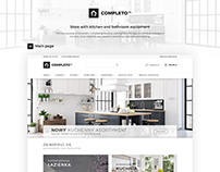 COMPLETO - Store with kitchen and bathroom equipment