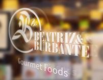 B&B GOURMET FOODS: Logo & Identity