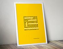 Rockwell Font Tipografik Afişleri (2014)