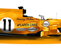 Every Mclaren livery on the 2017 Chassis